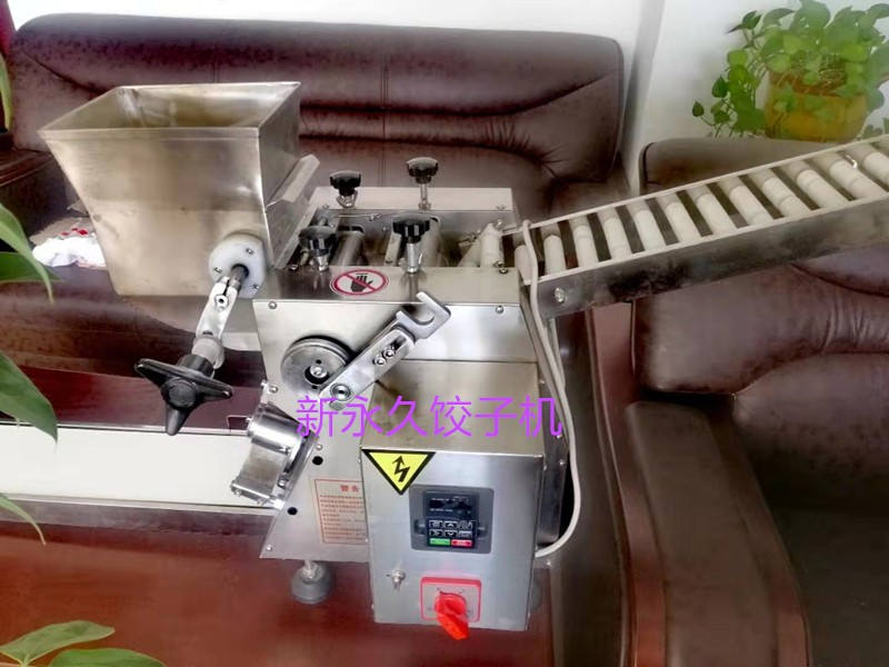 厂家直销饺子机 小型仿手工 全自动水饺机sj 商用100型饺子机