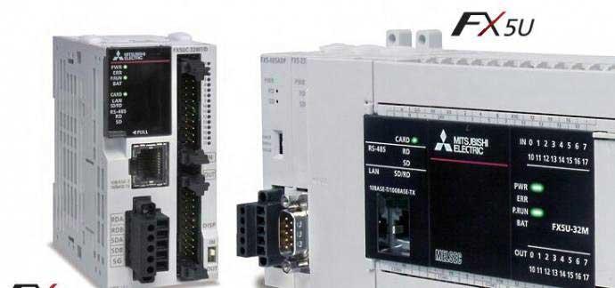 天津三菱PLC模块可编程控制器FX5U-64MT
