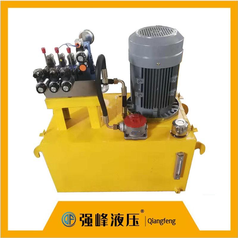 高压压站 液压系统 支持定制机械设备用打包机抱砖机各类液压机械配套用