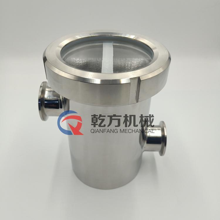 304 316L不锈钢空气阻断器 水封隔断地漏 洁净阻断地漏