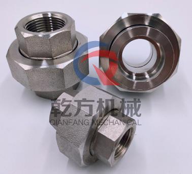 不锈钢高压内丝活接  2205/316L/304材质内丝活接  内丝活接头