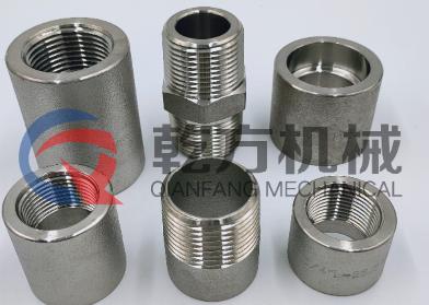 乾方机械 加工定做 2205 2507材质对丝接头 外丝接头 单头外丝 双头外丝
