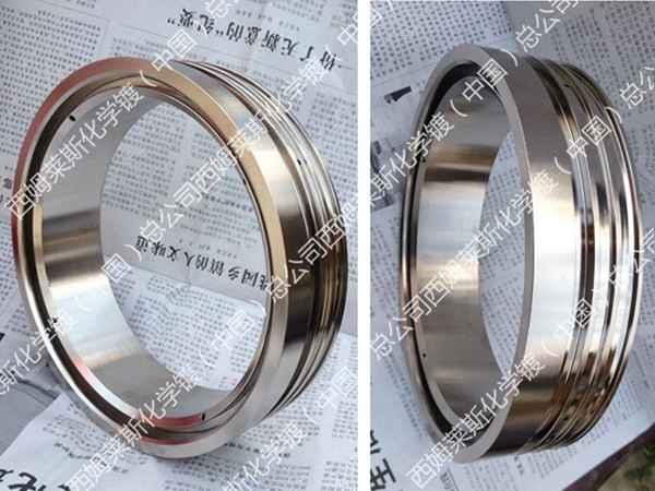 阀门零件7.6丝超厚镀层化学镀镍技术