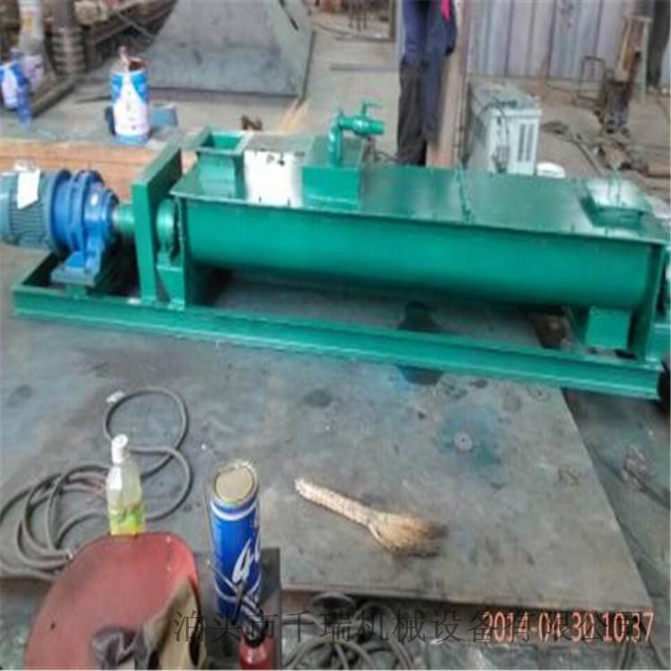 河北双轴粉尘加湿搅拌机定制 活叶片易拆卸 使用简单