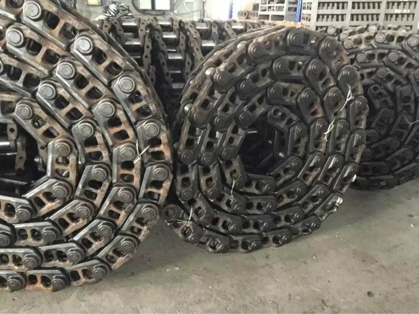 挖掘机链条报价R360现代矿山链条履带挖机链筋