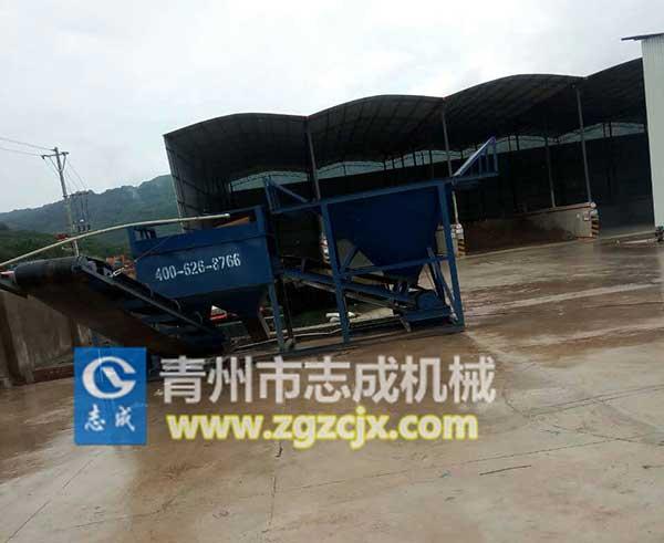 青州志成xs-100洗石机、洗沙机、