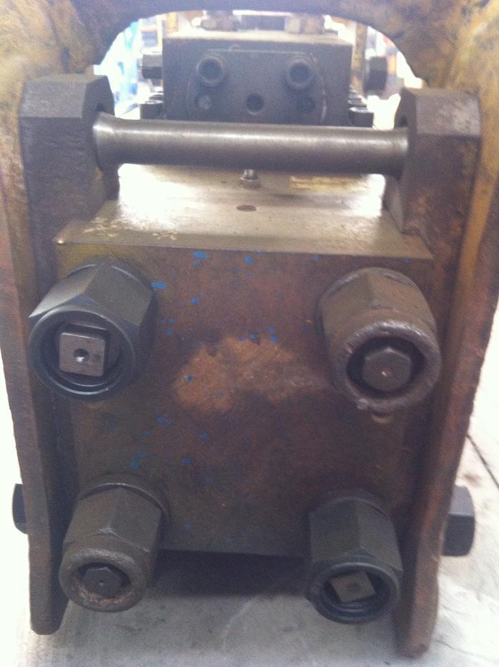 马鞍山荣旺机械出售韩宇RHB333的二手破碎锤一台