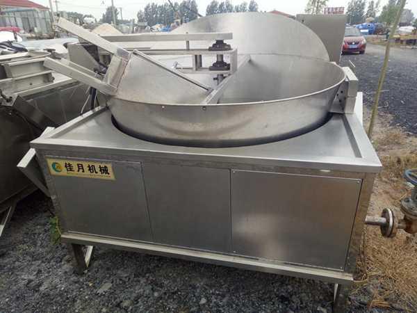 九成新佳月大型商用油炸锅