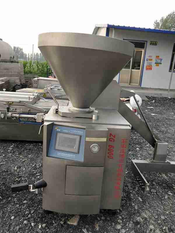 热销九成新ZG-6000博悦灌肠机,不锈钢灌肠机,全自动灌肠机