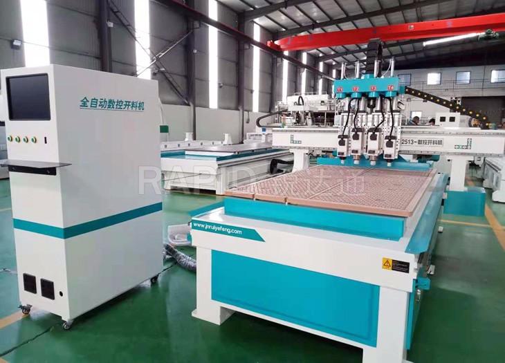 板式柜体家具生产全自动数控四工序开料机