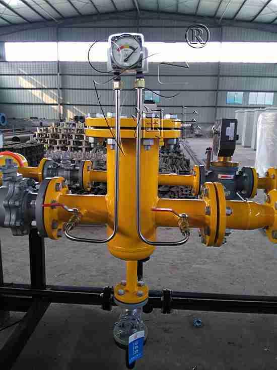 厂家供应T型天然气管道过滤器RFG-Z系列燃气滤清器轴式过滤器