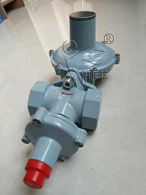 供应天然气减压阀20方锅炉专用调压器内螺纹带切断润丰厂家