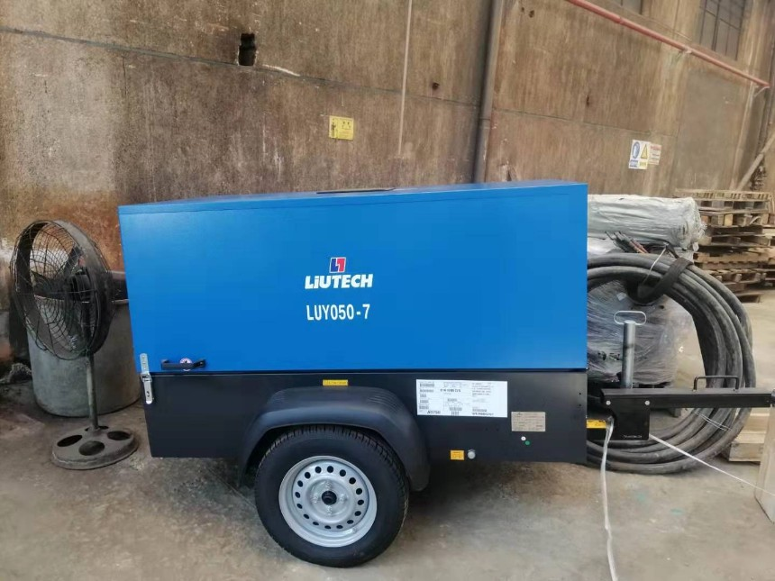 柳州富达空压机LUY050-7 质量保证价格优惠