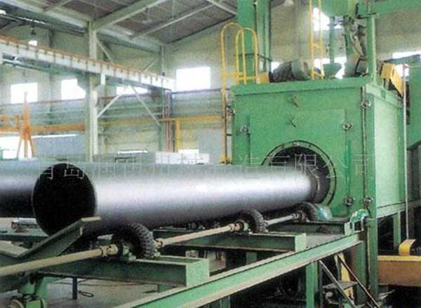 钢管生锈就用润祺钢管抛丸机钢管内壁除锈机钢管外壁抛丸机