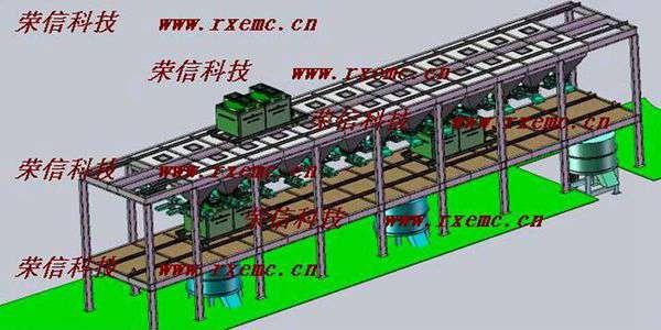 PLC配料控制系统