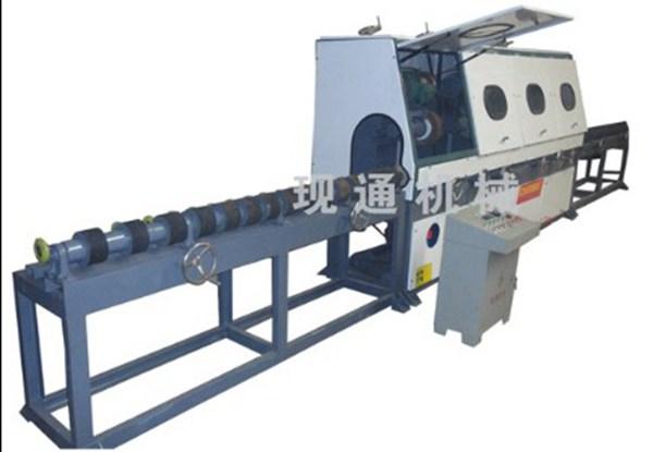 大直径外圆抛光机  大直径管材抛光机  天然气管道抛光机 现通机械