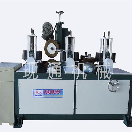 厂家实拍方管抛光机图片  方管抛光机视频  河北省现通机械厂