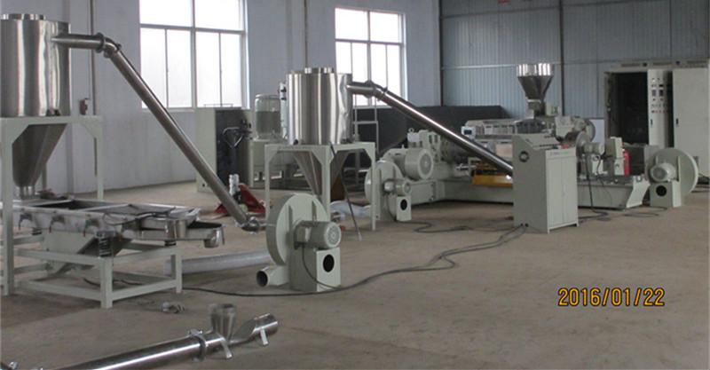 低烟无卤造粒机 电缆料造粒机——江苏塑料机械厂家