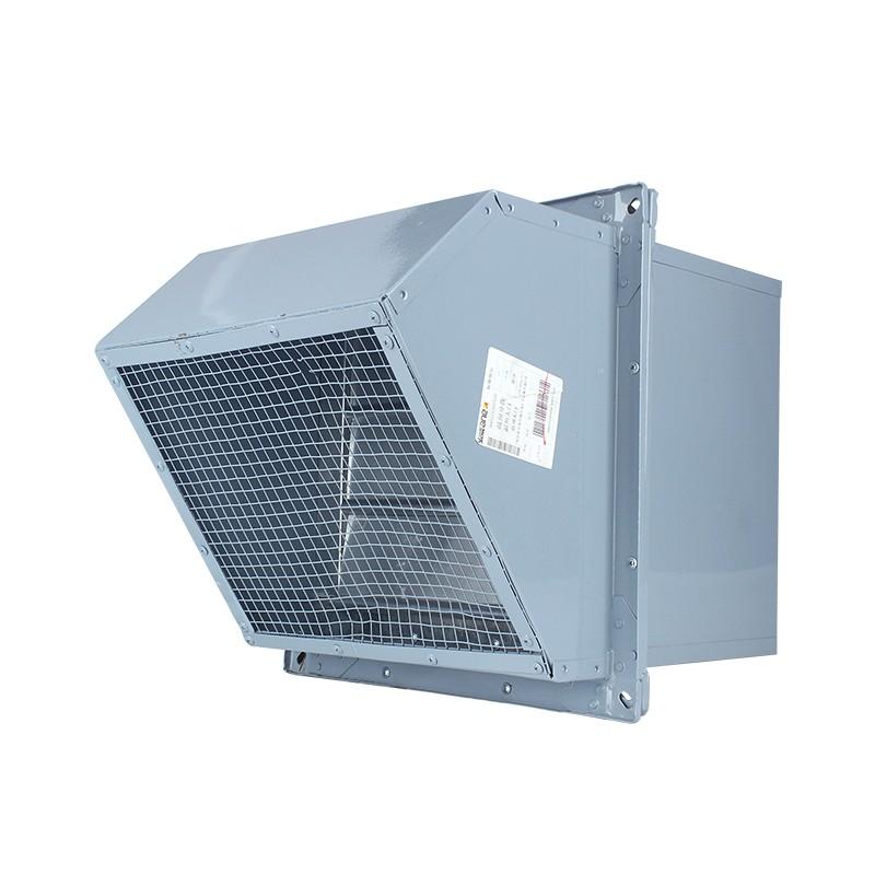 WEX边墙风机DWEX壁式轴流排风机380v方形防爆墙壁送风机防腐定制