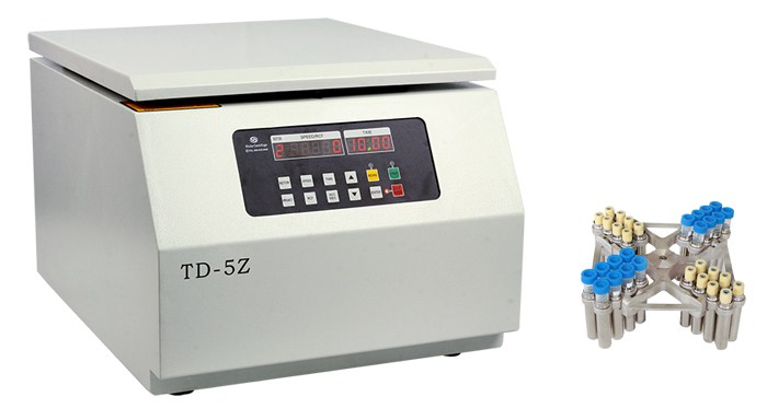 TD-5Z台式低速多管架离心机