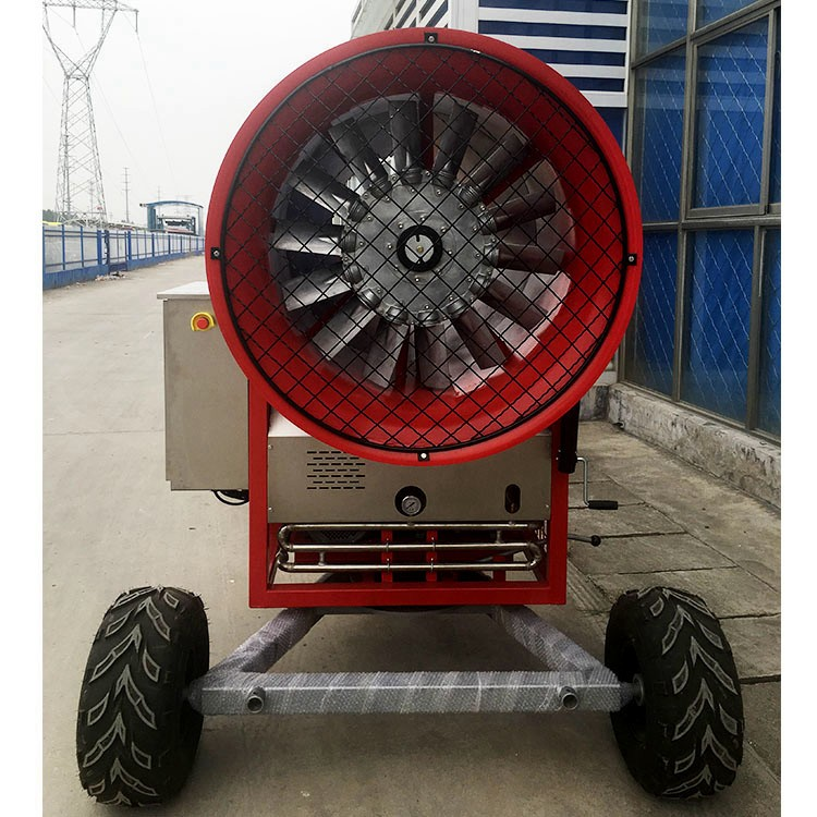 华北造雪机 远程遥控造雪机 喷嘴式设备
