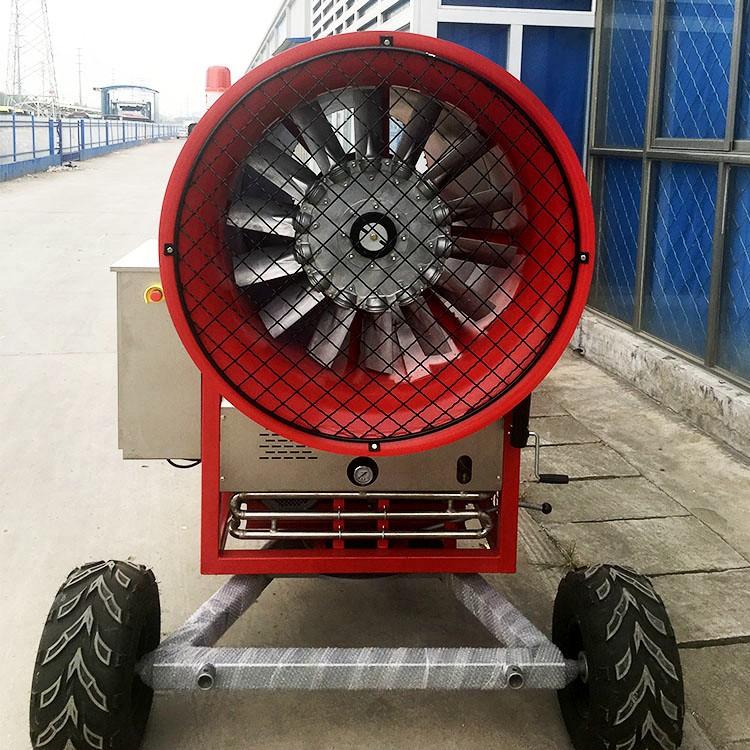 出雪量高的造雪机 智能化 冬天不冻人 大型造雪机