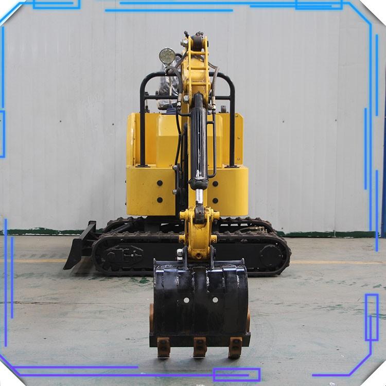 履带小型挖掘机 小型挖掘机持久稳定 适用于小型土石方工程作业