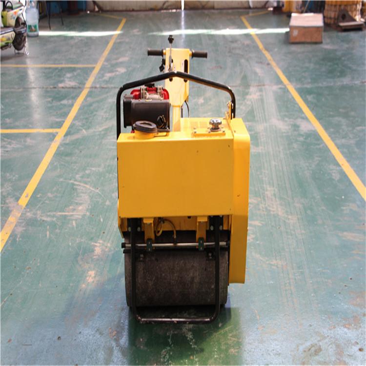 小型壓路機 單鋼輪手扶式壓路機 回填土壓路機