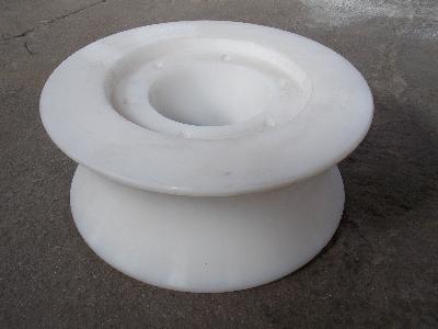 港口机械设备配件托辊滑轮耐磨块耐磨套UPE托辊