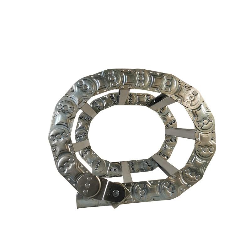 钢制拖链广东海兴盛达供应钢制拖链适配起重机拖链
