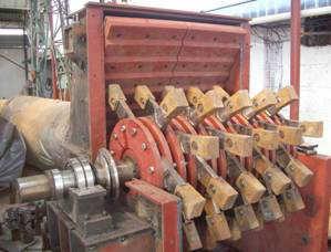 供应焦化厂专用可逆转锤击式细粒破碎机配件