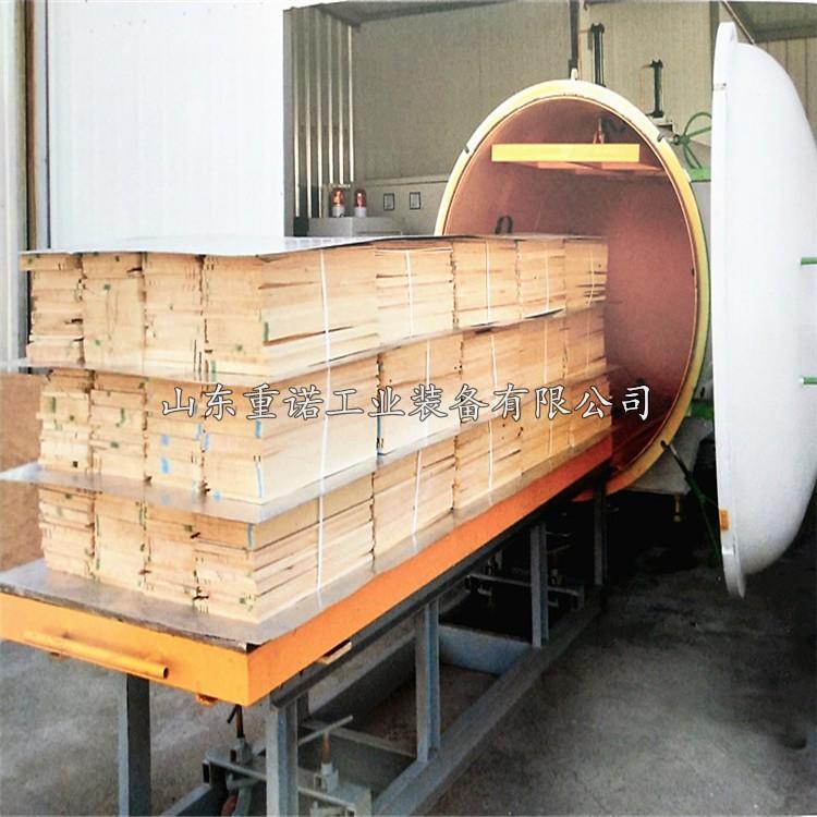 整套木材防腐罐配备齐全真空泵加压泵排液泵高压防腐罐