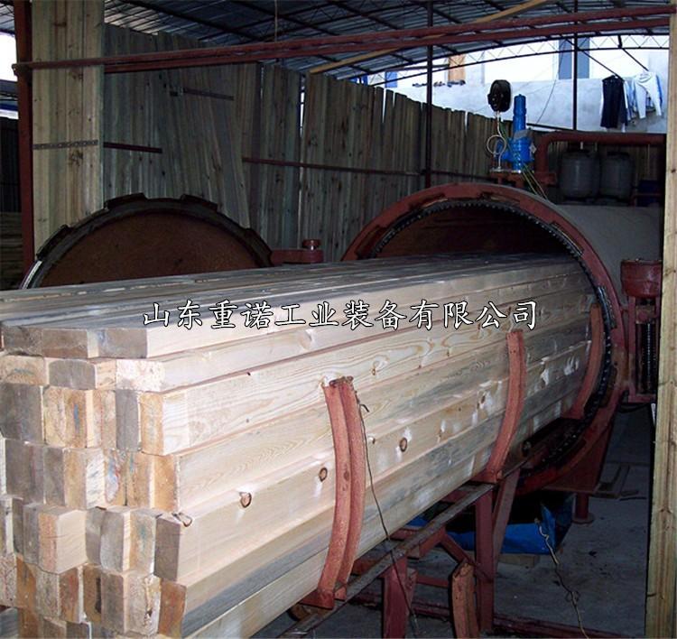 蒙古包折弯定型罐河北榆木圈高温蒸煮定型设备