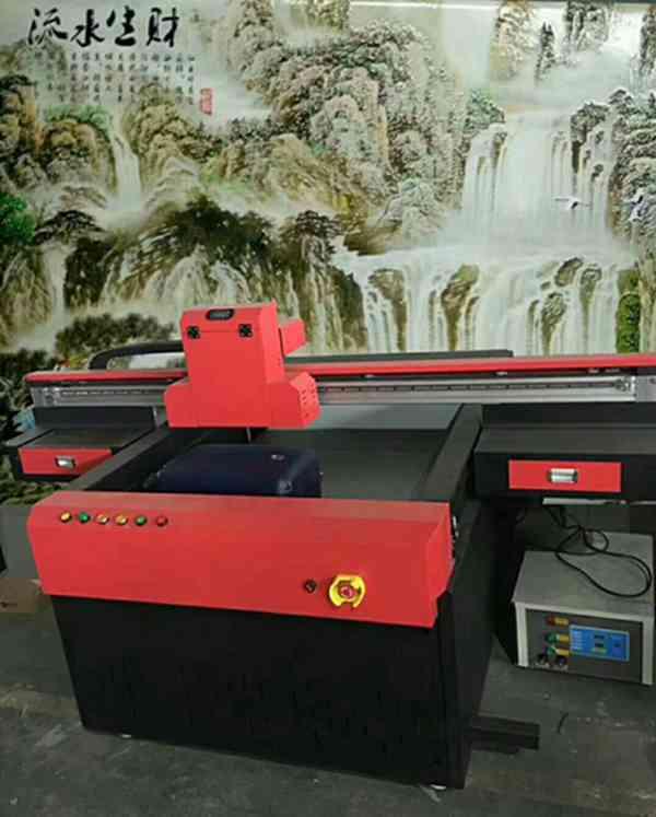 上优泽双喷头UV万能打印机/木板移门打印机/厂家直销