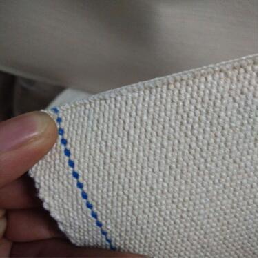帆布输送带无缝纯棉帆布带饼干脱模线输送带上海输送带厂家