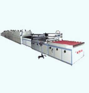 SKR-JDJ120全自动条幅丝印机生产线丝网印刷流水线