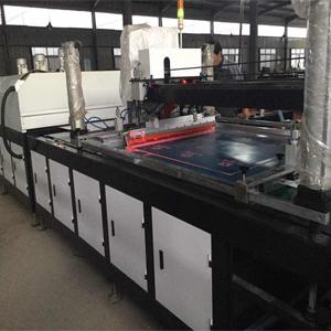 SKR-JDJ1200经幡全自动丝印生产线