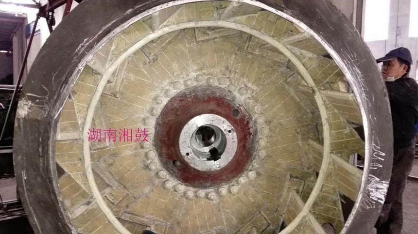贴陶瓷耐磨风机