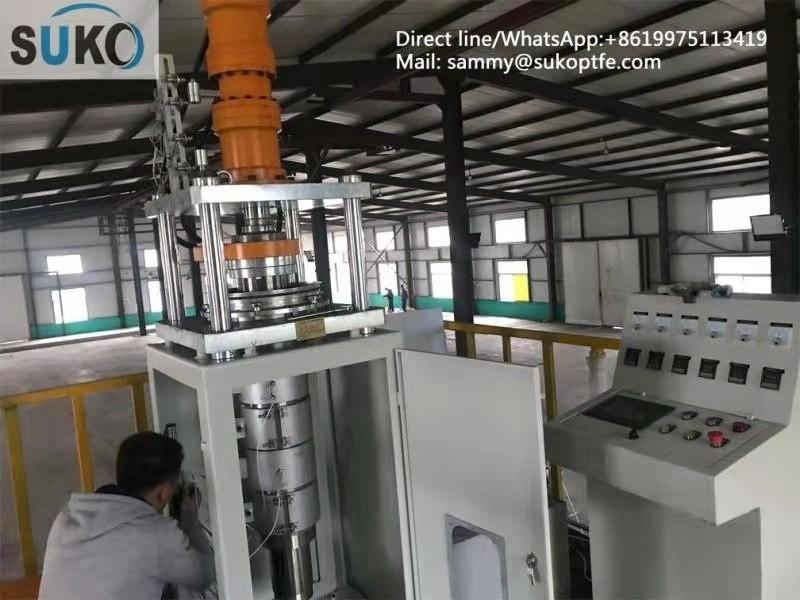 尚科 聚四氟乙烯棒挤出机 高产出低能耗寿命长直径80-150mm
