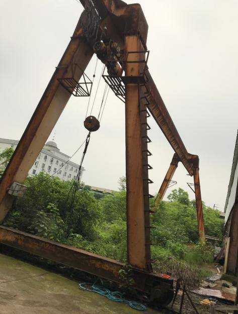 5成新金华16吨龙门吊
