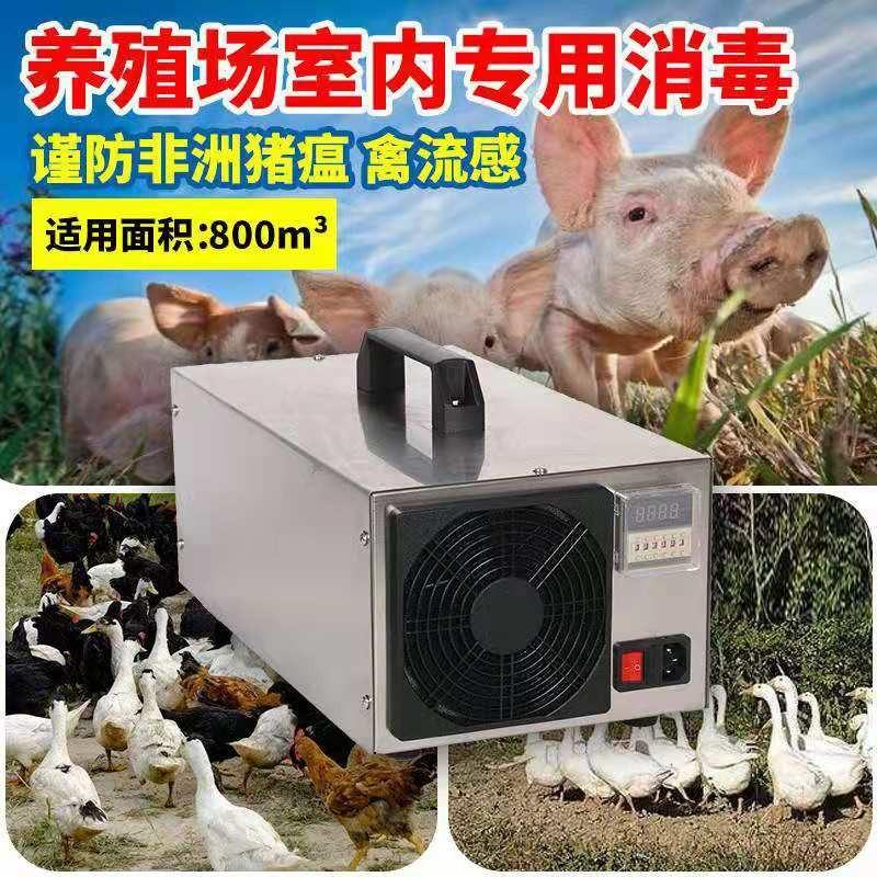 养殖环境处理器800立方使用养殖场臭氧机消毒机除氨气臭氧发生器