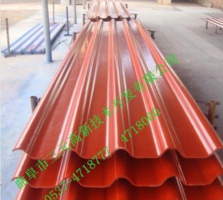 厂家彩板瓦彩釉瓦、铝箔瓦生产设备