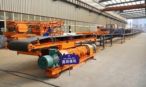 煤矿井下皮带输送机 嵩阳煤机 井下输送设备
