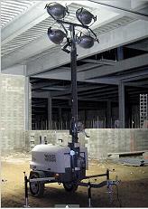 混凝土浇灌用LTN 6L移动多功能灯塔