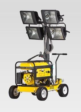 进口照亮范围更广ML225移动照明灯车