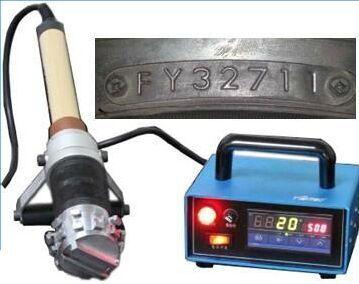 轮胎型号烫号轮胎规格烫字机烫号轮胎日期烫号机轮胎烫编码机