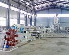 PET塑料圆扁丝拉丝机生产线设备机器机械挤出机组