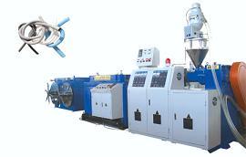 PP、PE、PVC塑料波纹管生产线设备机器机械挤出机组