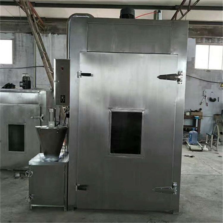 厂家直销750型烟熏炉全自动烟熏炉板鸭蒸熏炉