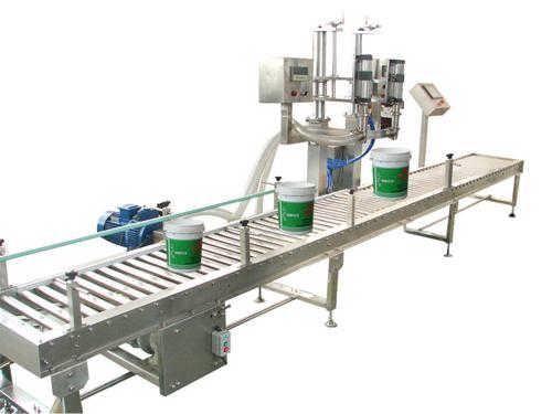 江苏盐城塑料桶灌装机-大桶灌装机